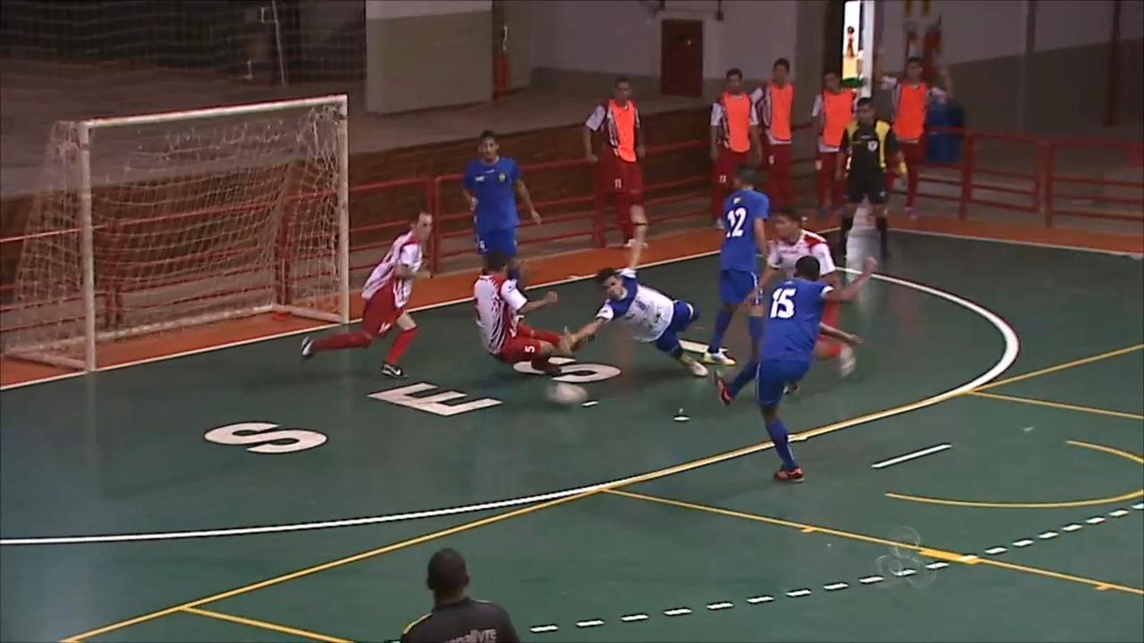 Campeonato Acreano de Futsal da 2ª divisão tem 13 gols no jogo de abertura   e1fdaf8143d08