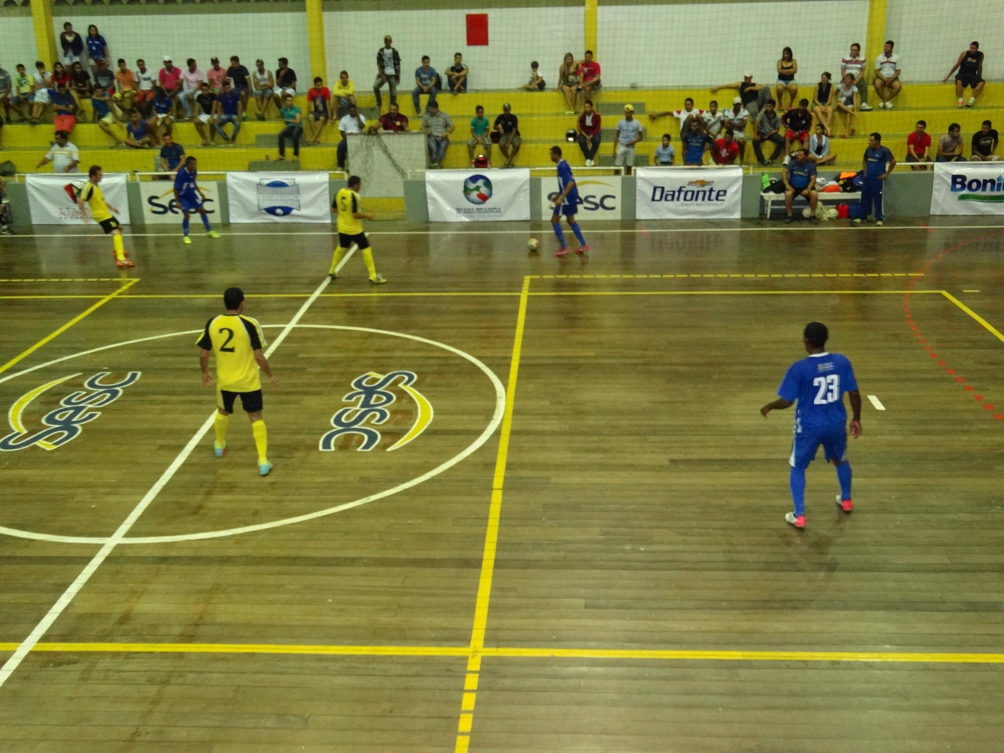 1fc8300ea1 Segunda fase da Copa TVAB de Futsal começa com 25 gols em quatro jogos