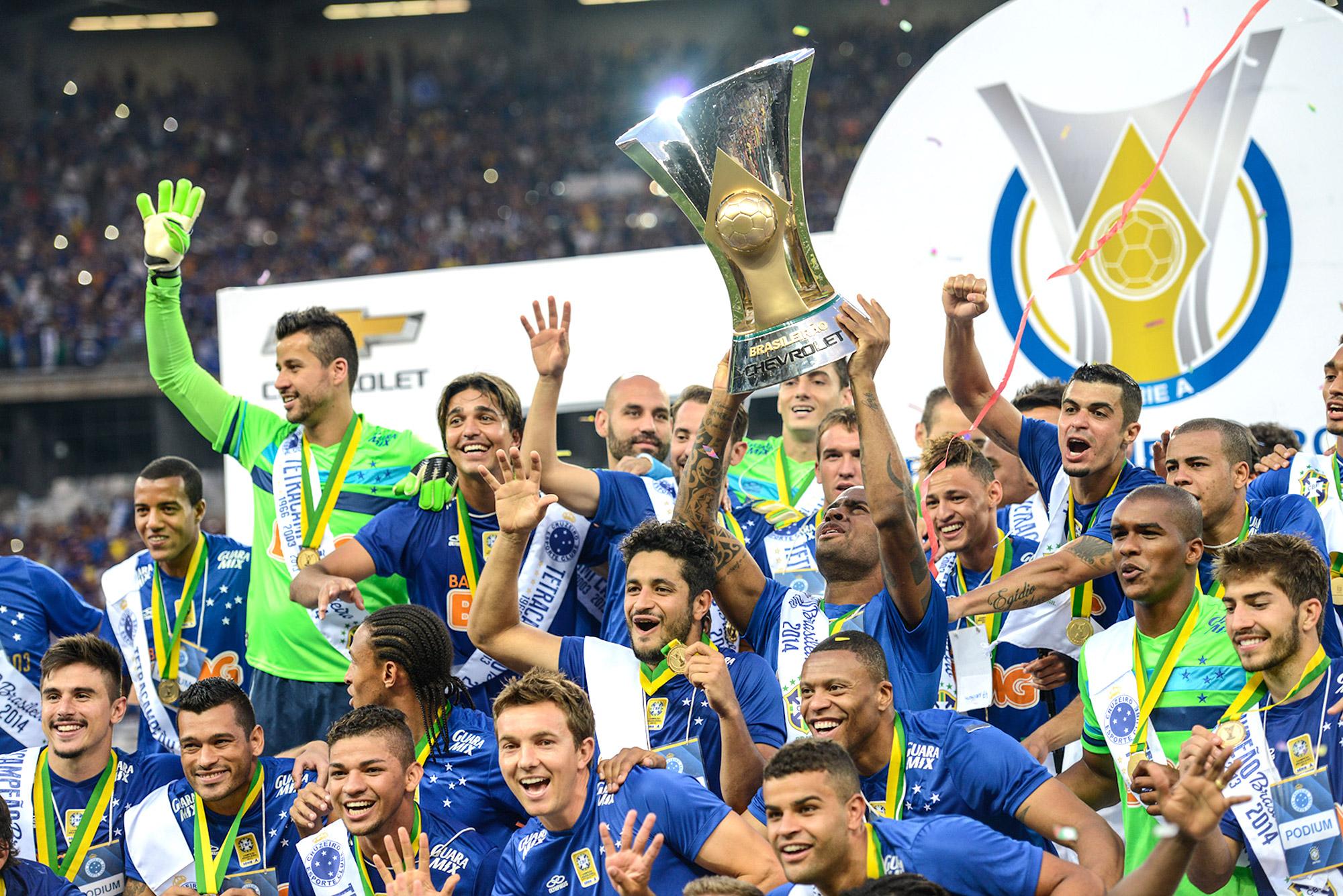 Cruzeiro assume a ponta do Ranking Nacional de Clubes  Timão é segundo  cf3dbe5356aef