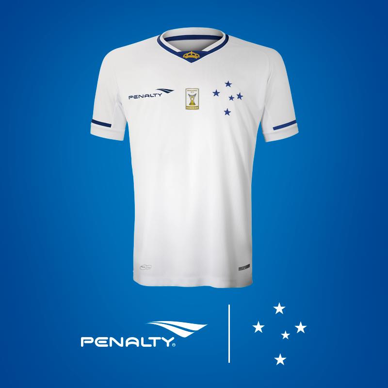 Cruzeiro divulga imagem da camisa branca que usará na temporada 2015 d5c81e11da51a