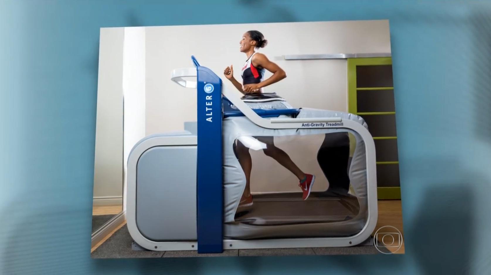 Esteira especial usada por CR7 deixa correr com redução de 80% do peso - eu  atleta  59c459f9556f8