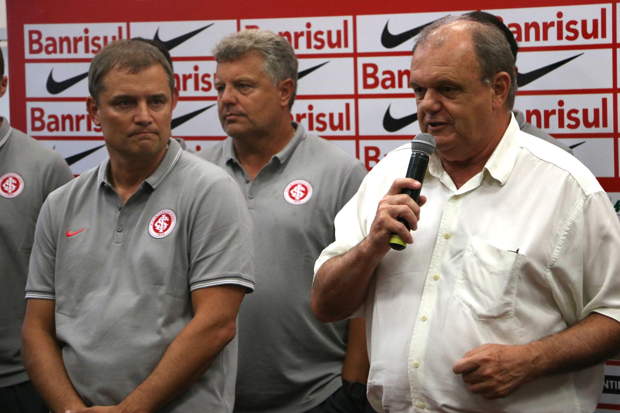 Inter evita falar em novo vice, e Piffero se junta ao futebol e acumula ... - Globo.com
