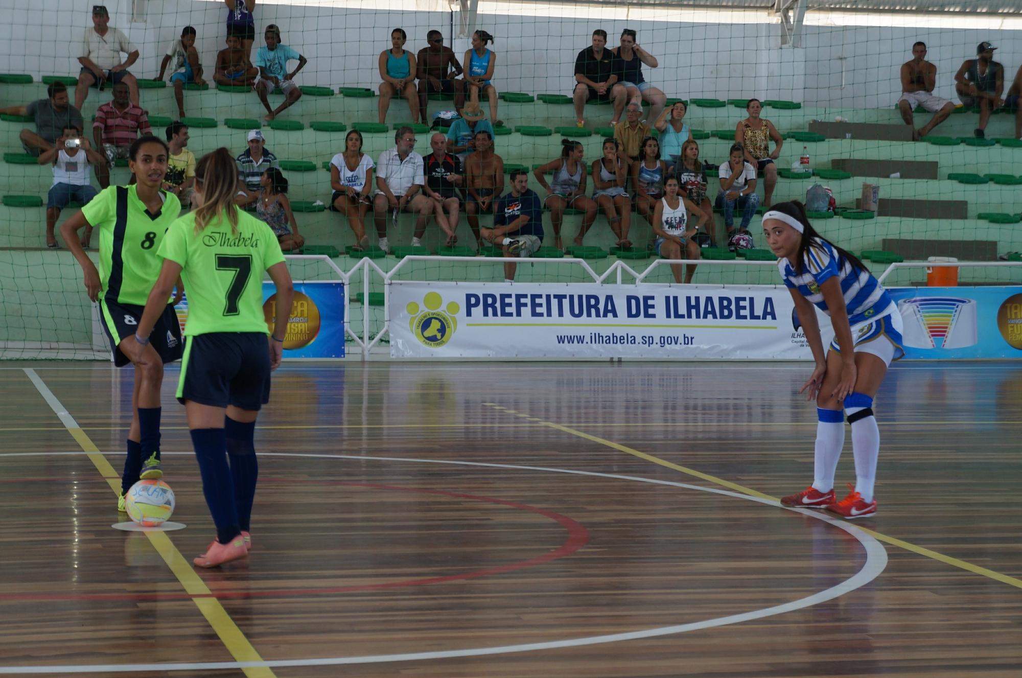 Taça Vanguarda de Futsal Feminino entra nas quartas de final no ... - Globo.com