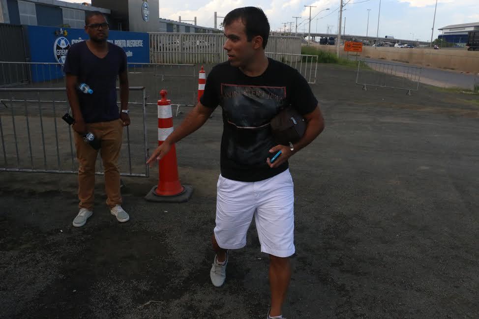 """Grêmio fará """"grupo C"""" e espera fechar pacotão de saídas com ... - Globo.com"""