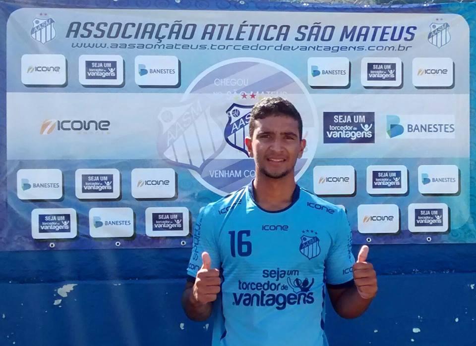 """""""Guerrero"""" do São Mateus, Vitor Visa quer conquistar torcida do Pitbull - Globo.com"""