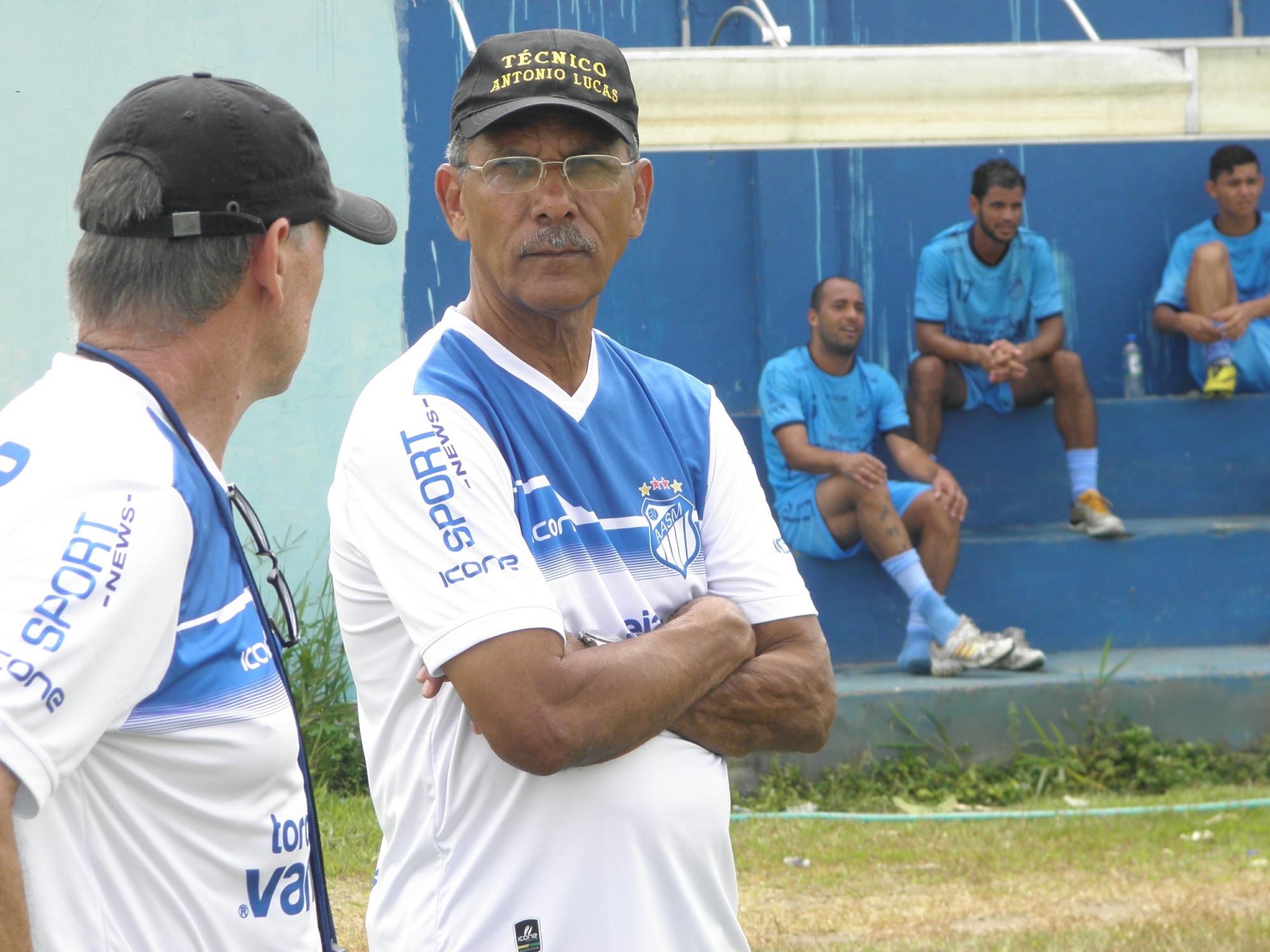 Para técnico do São Mateus, time está com 50% da capacidade física - Globo.com