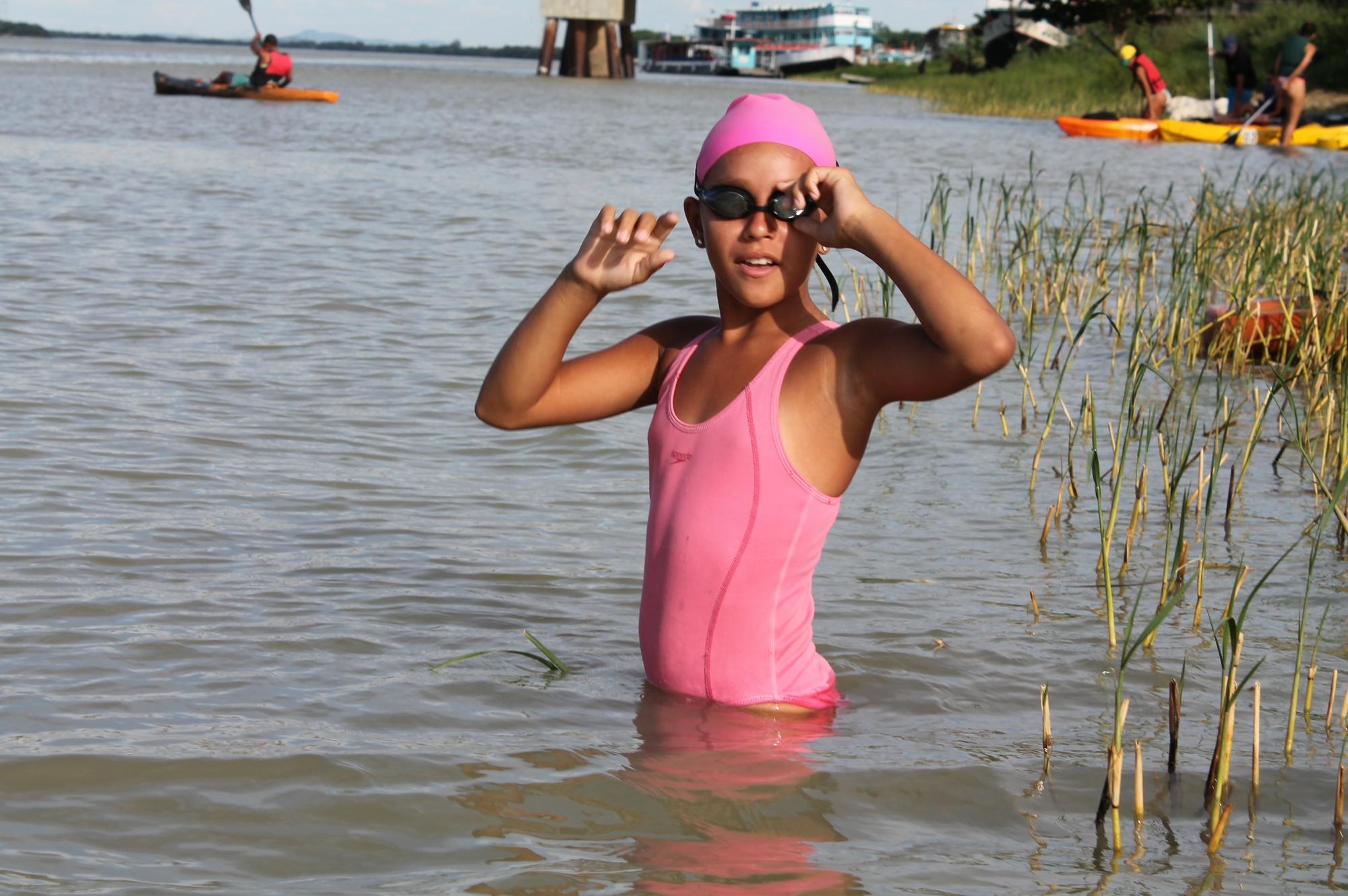 Menina do Rio: Rafaela Augusta, a pequena grande nadadora do ... - Globo.com