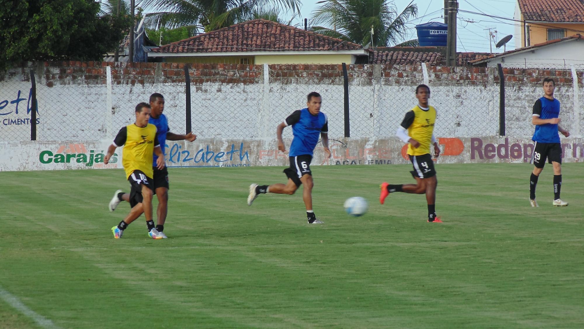 Botafogo-PB encerra sua preparação diante do Alecrim no Estádio ... - Globo.com
