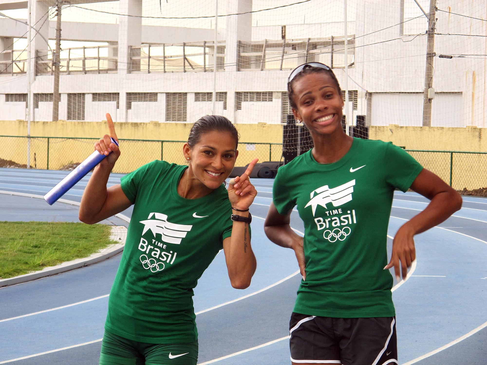 Esperanças de medalha, velocistas ignoram ''trauma'' e treinam ... - Globo.com
