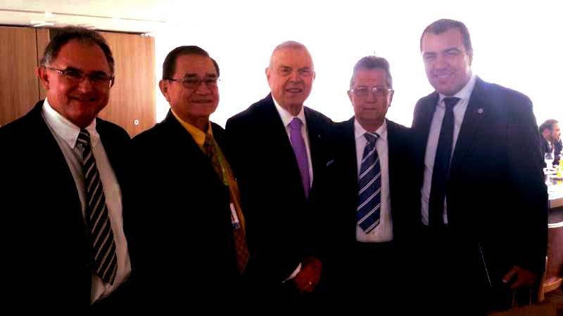 CBF destaca homenagens dos presidentes de Remo e Paysandu - Globo.com