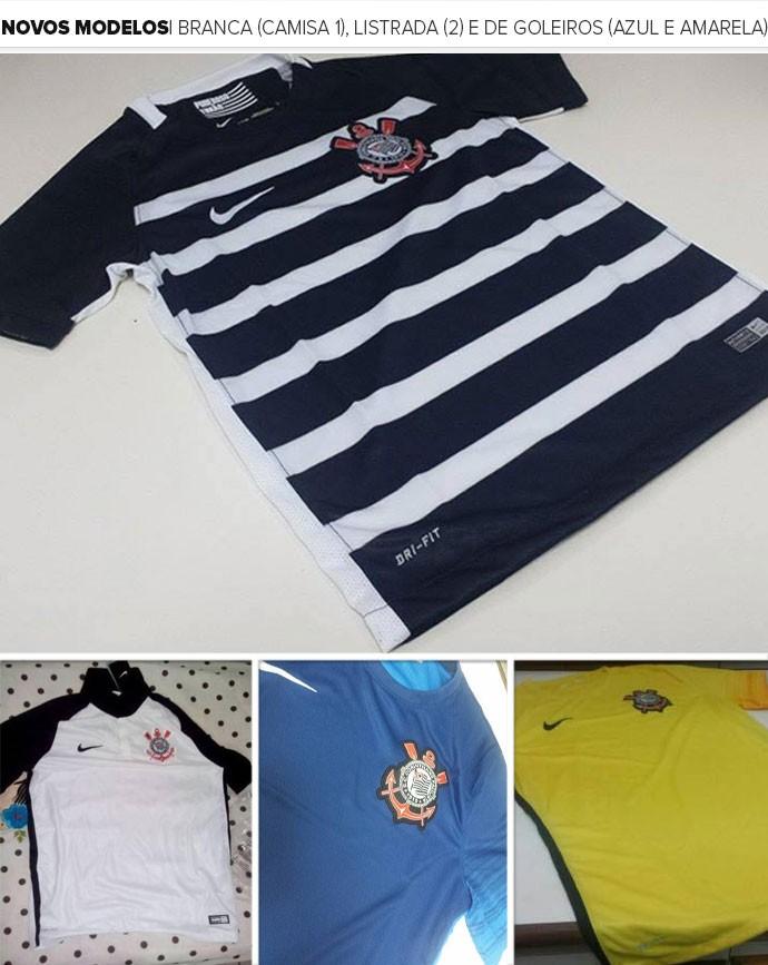 2a9d8b785b Fornecedora adia lançamento das novas camisas 1 e 2 do Corinthians
