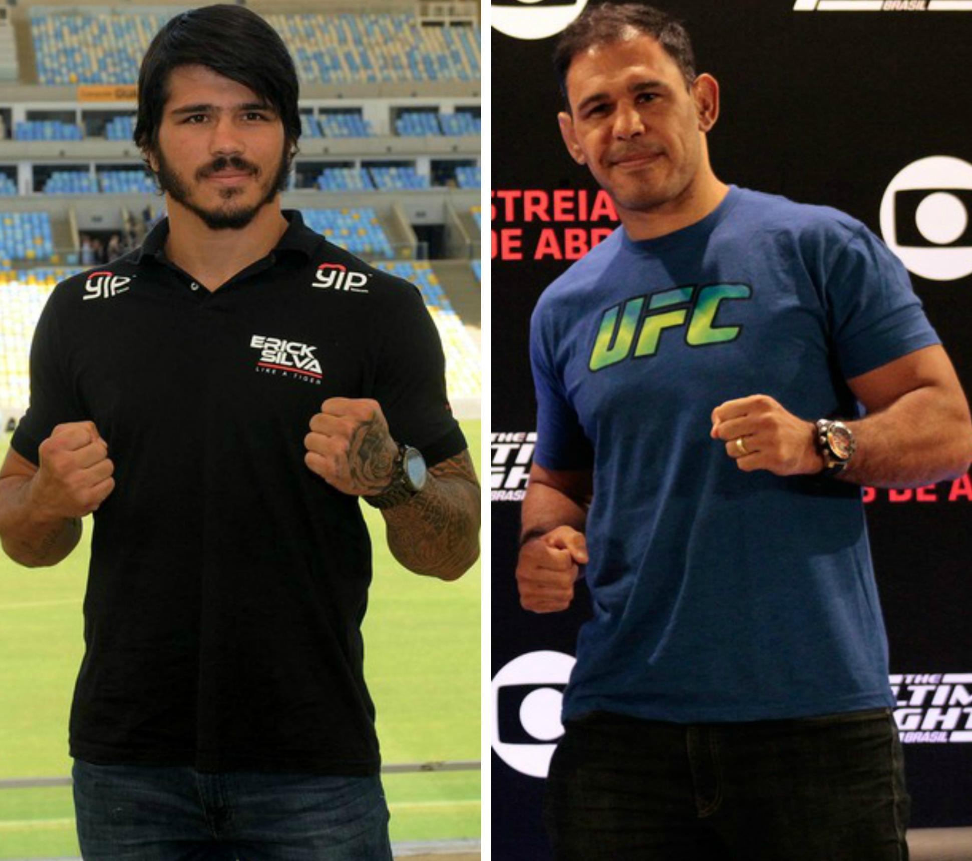 Erick Silva e Rogério Minotouro fazem inauguração da Team Nogueira Vitória 00277cacbb921