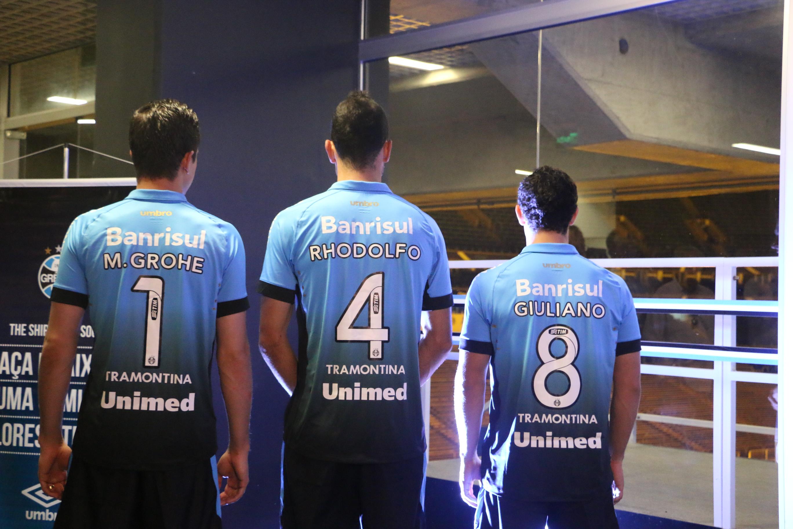 49f1d0a48e Grêmio adota numeração fixa, dá a 9 a Braian Rodríguez e a 10 a Douglas