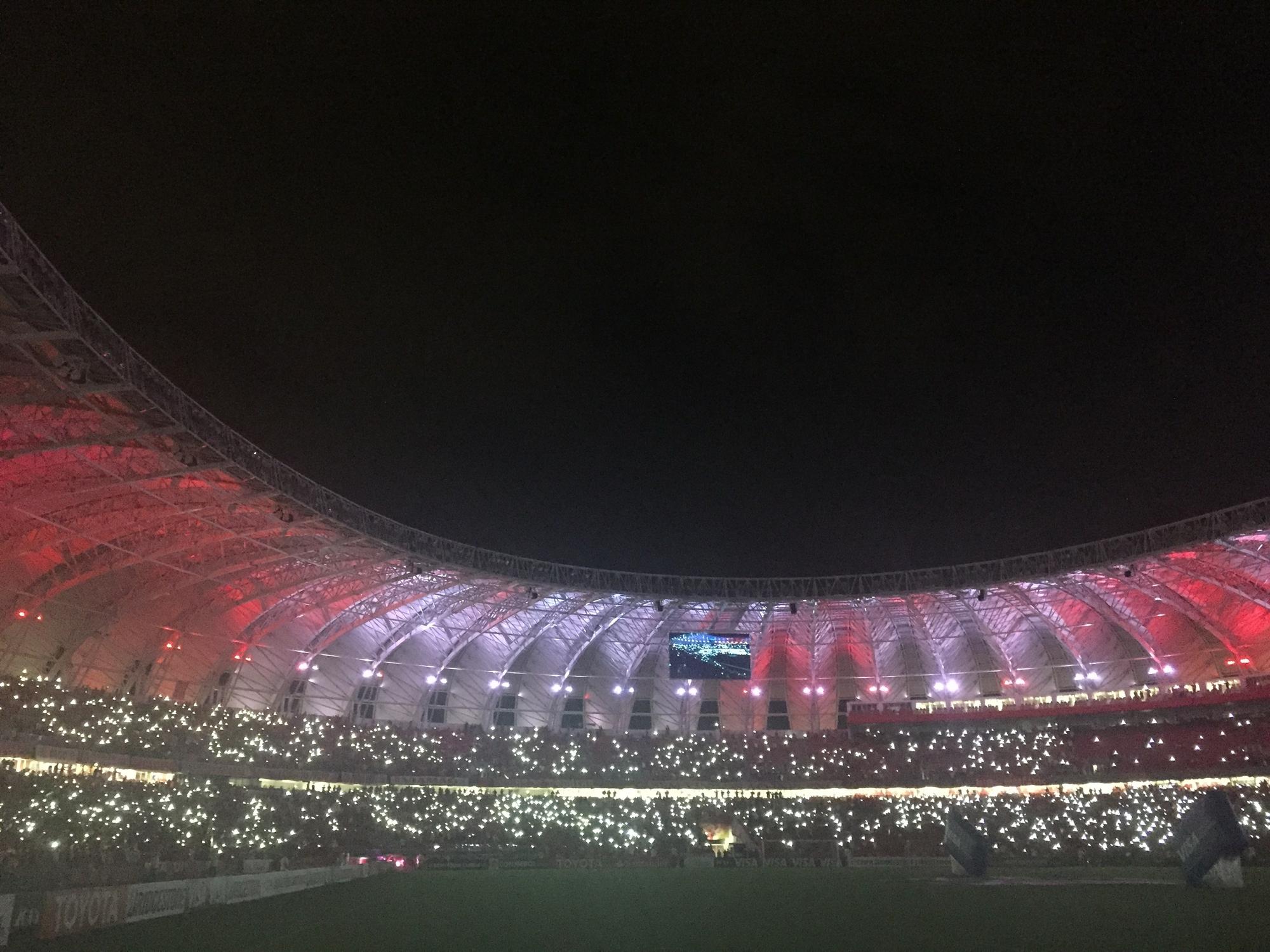 Torcida supera até a Copa e quebra recorde de público do novo Beira-Rio 287154a66c519