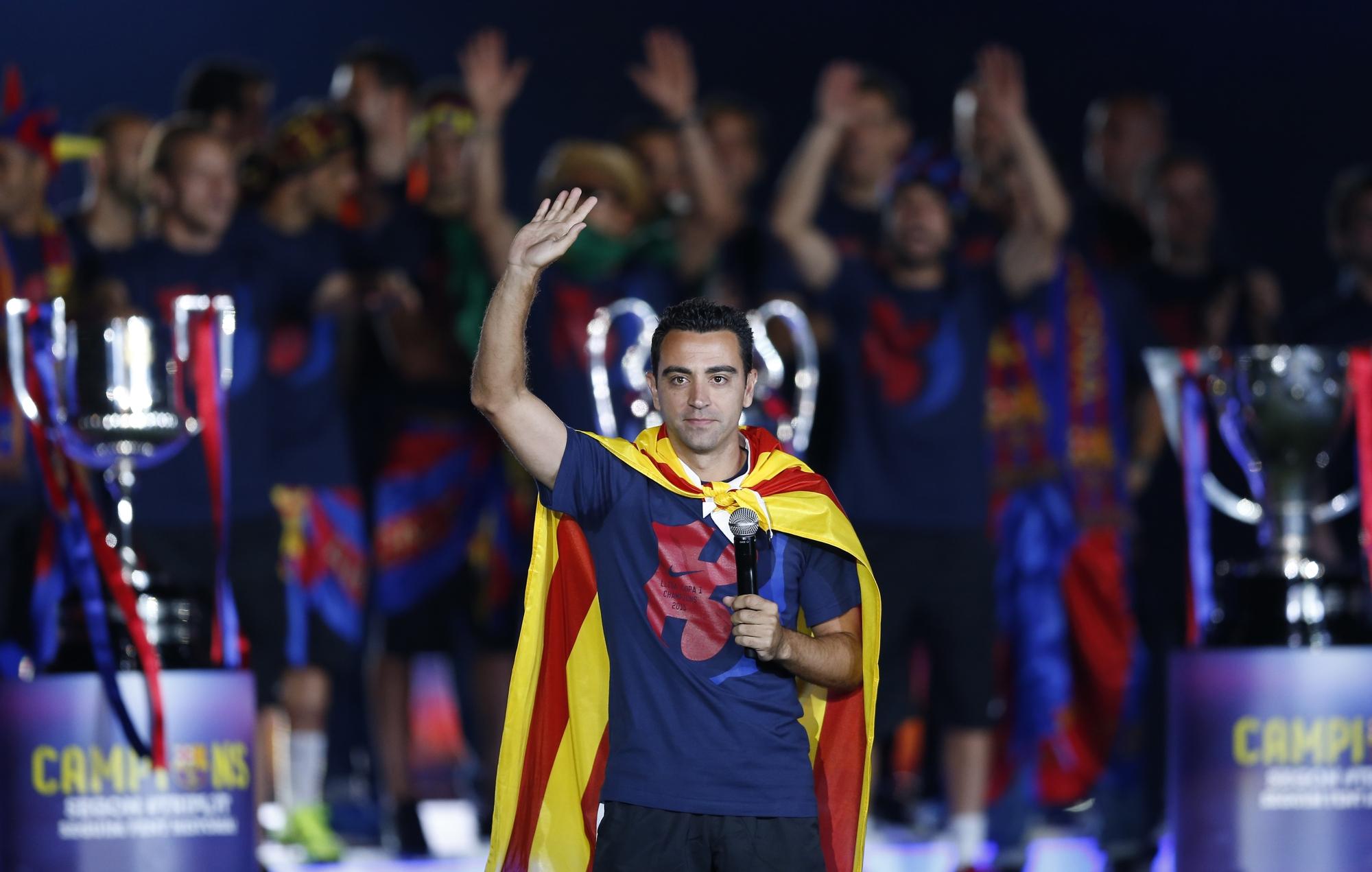 74dd844acac03 Xavi quer treinar o Barcelona após se aposentar em 2018