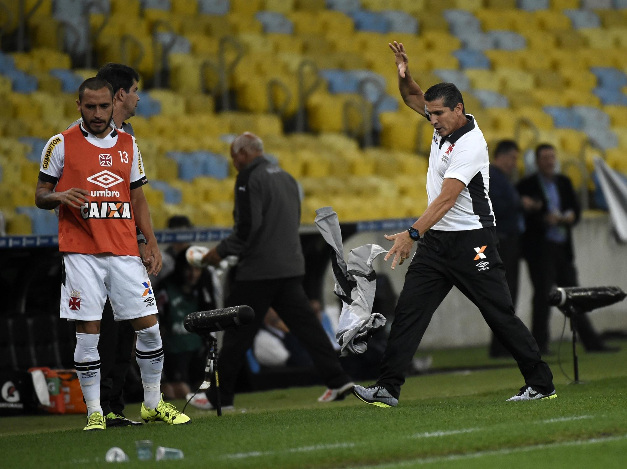 Jorginho elogia Vasco e vê falta em gol do Galo