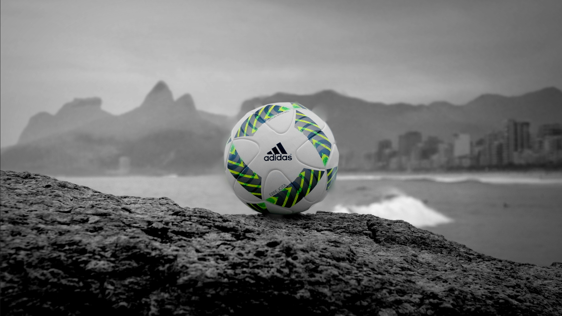 3f9a7d89b524f Bola das Olimpíadas do Rio 2016 é lançada e já tem até nome  Errejota