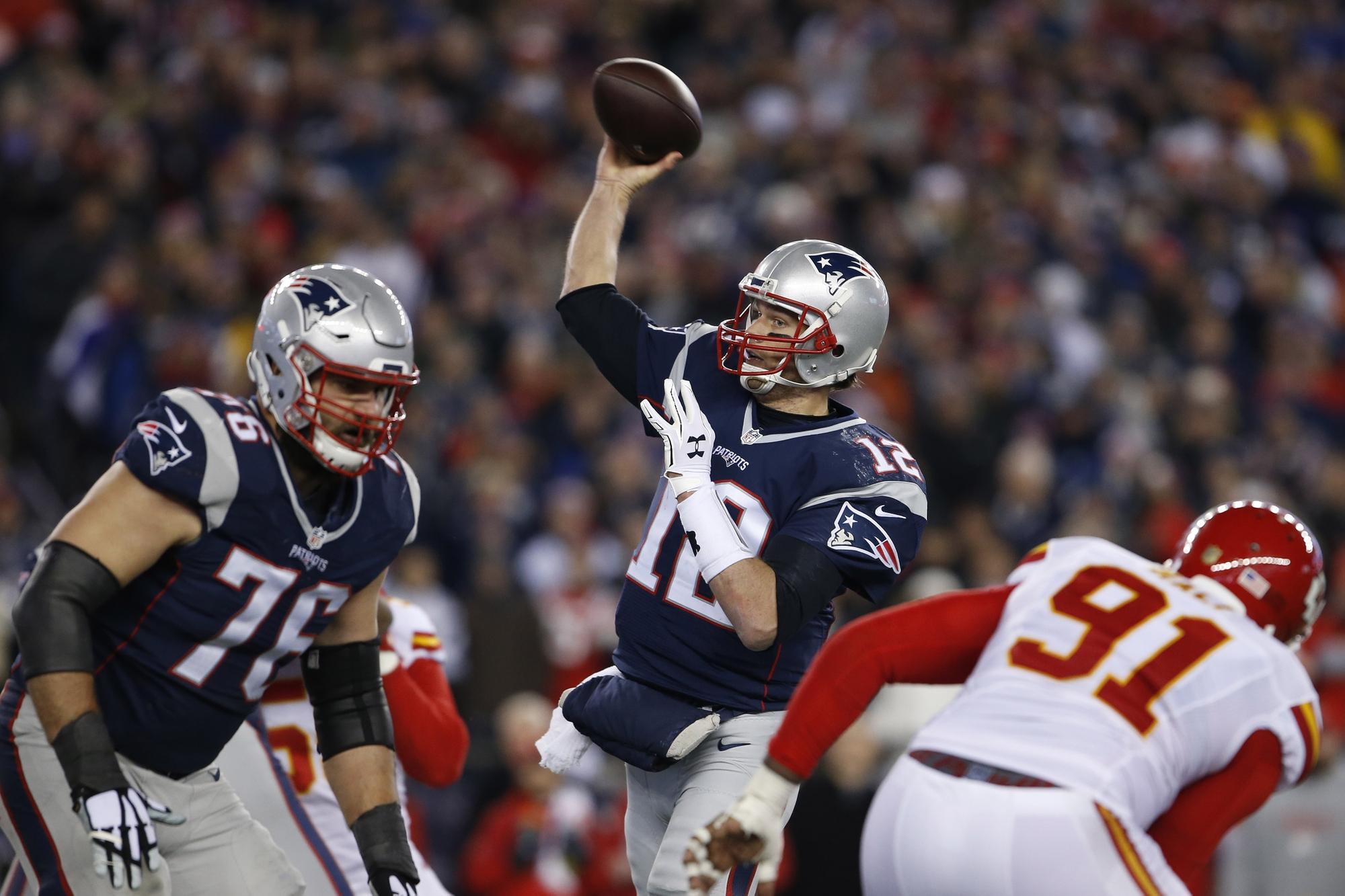 00bc265ffe Tom Brady brilha