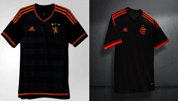 7ee62a6dfad4d Torcida do Sport vê plágio na nova terceira camisa do Flamengo