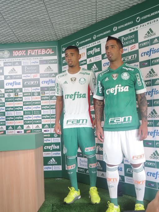Palmeiras apresenta nova camisa 19c334687d356