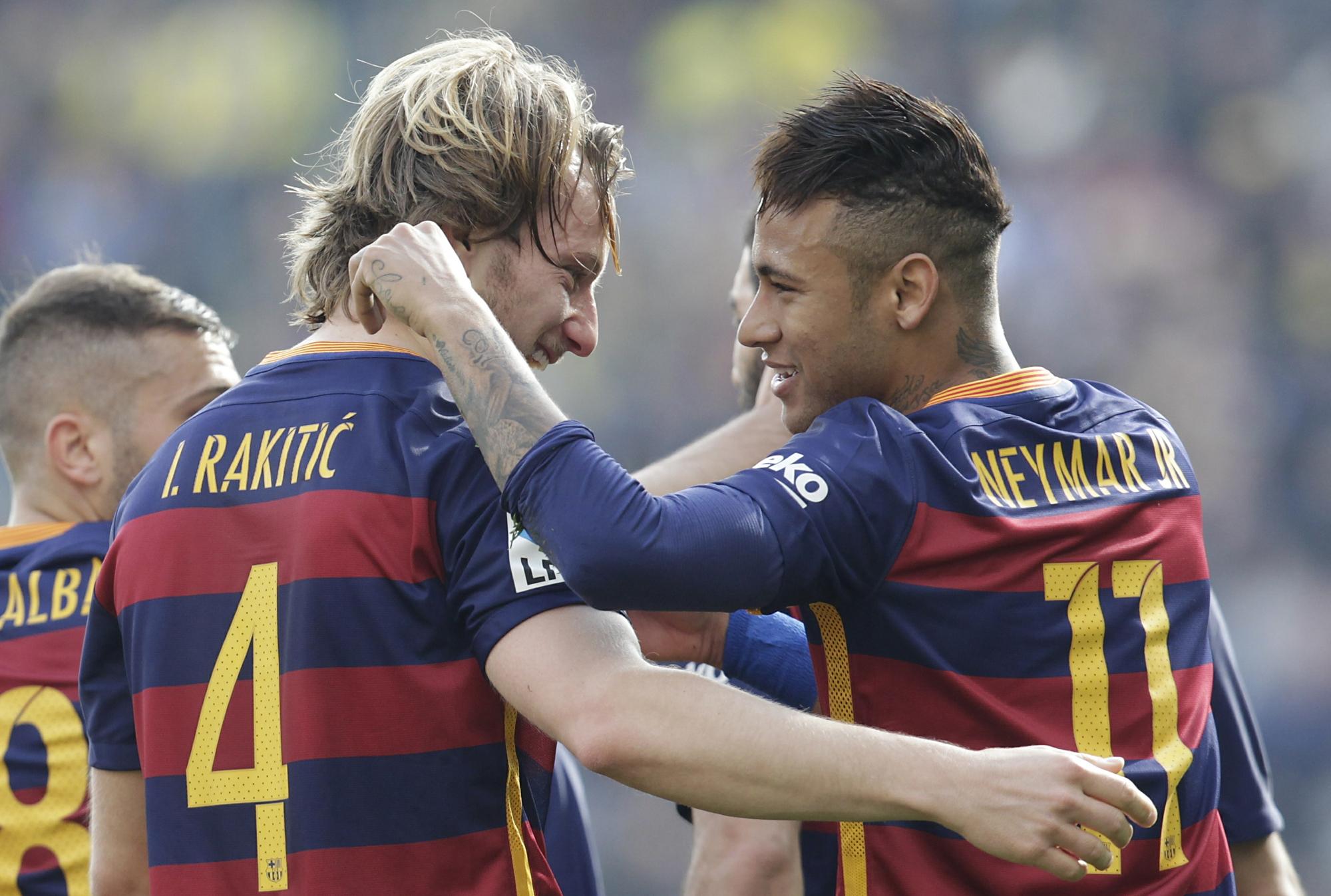 15c7ca3fb9 Rakitic vê Neymar como o futuro melhor do mundo