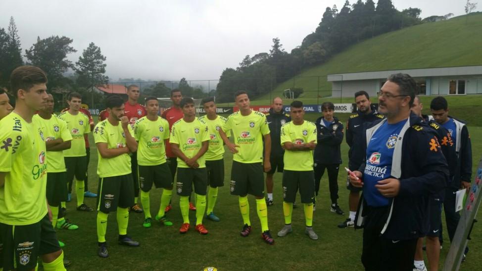 Santos tem três jogadores convocados pela seleção brasileira sub-20 2ed1e2606dcba