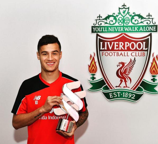 Philippe Coutinho é escolhido o melhor jogador do Liverpool em março d376e791a6cb8