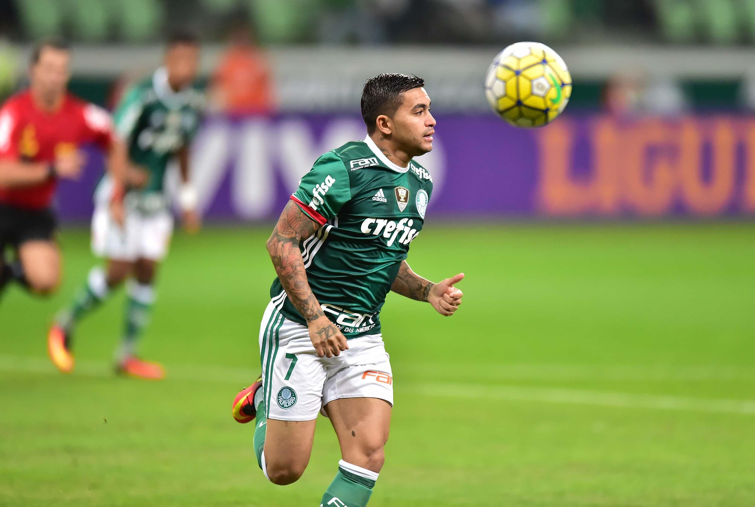 29f980b311 Palmeiras recusa oferta do futebol chinês por atacante Dudu