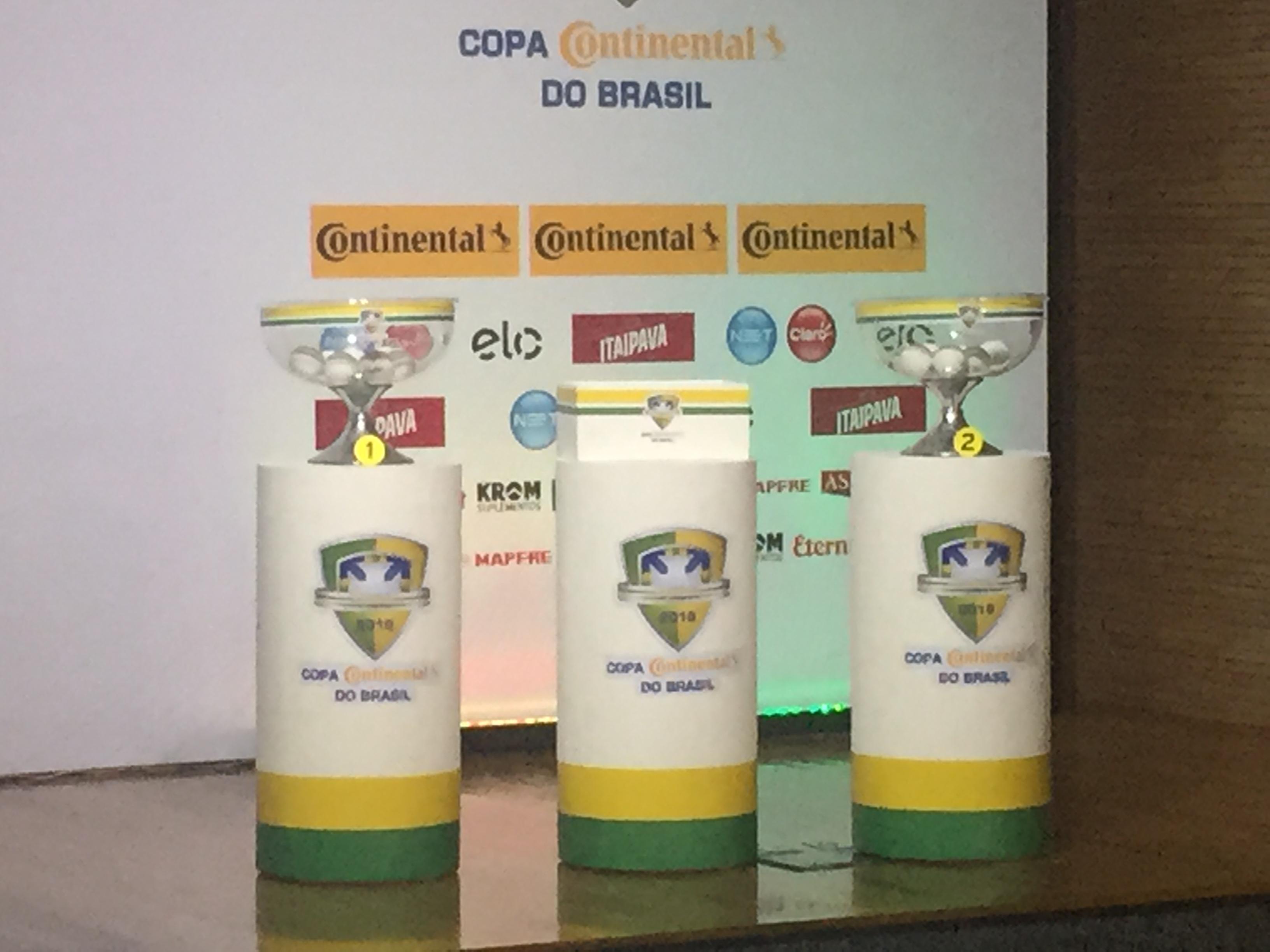 CBF define as oitavas de final da Copa do Brasil  veja quais são os  confrontos c6dd01fbbf53c