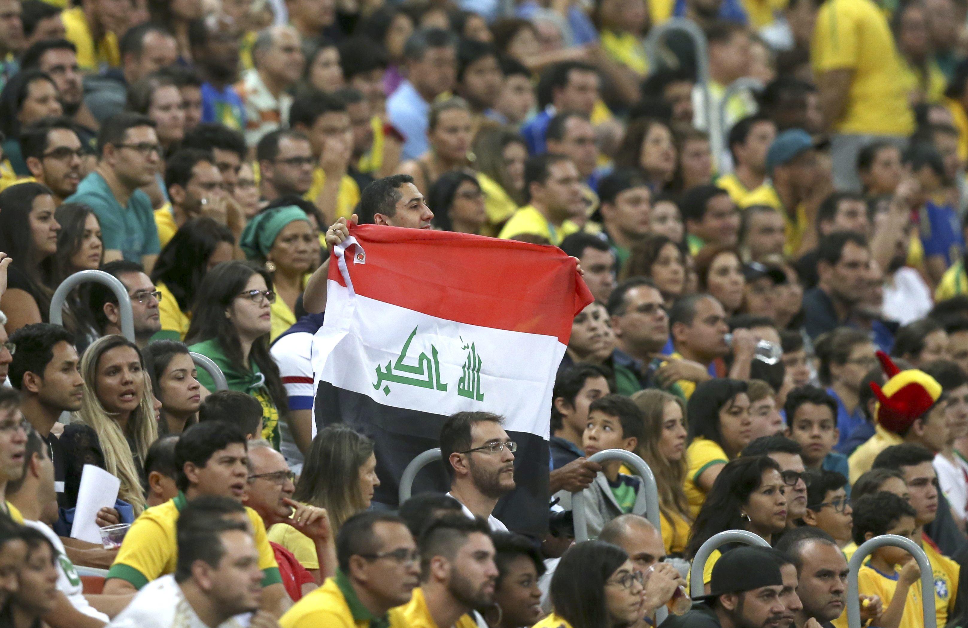 278c4fa11e Carrasco ou xodó  Iraque espera torcida brasileira por vaga nas quartas