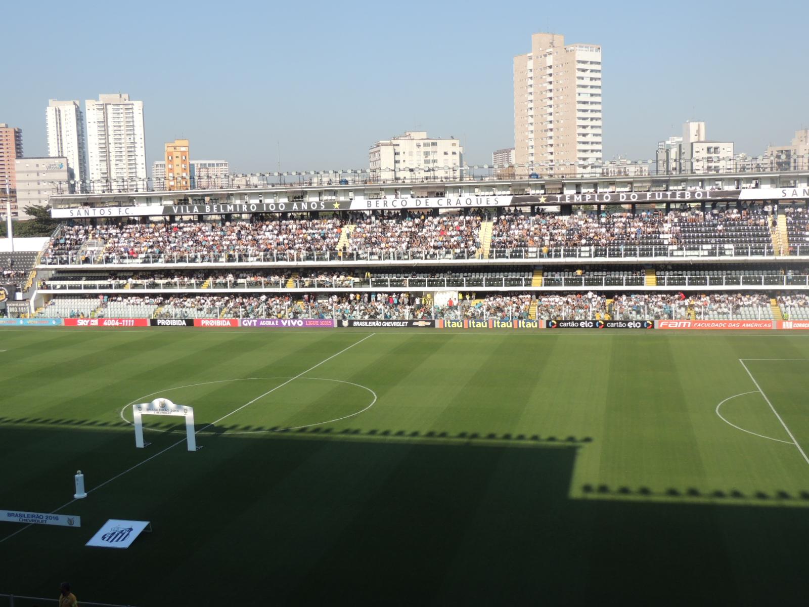 Santos vende ingressos para jogo de manhã contra o Figueirense 7c154ec850ae4