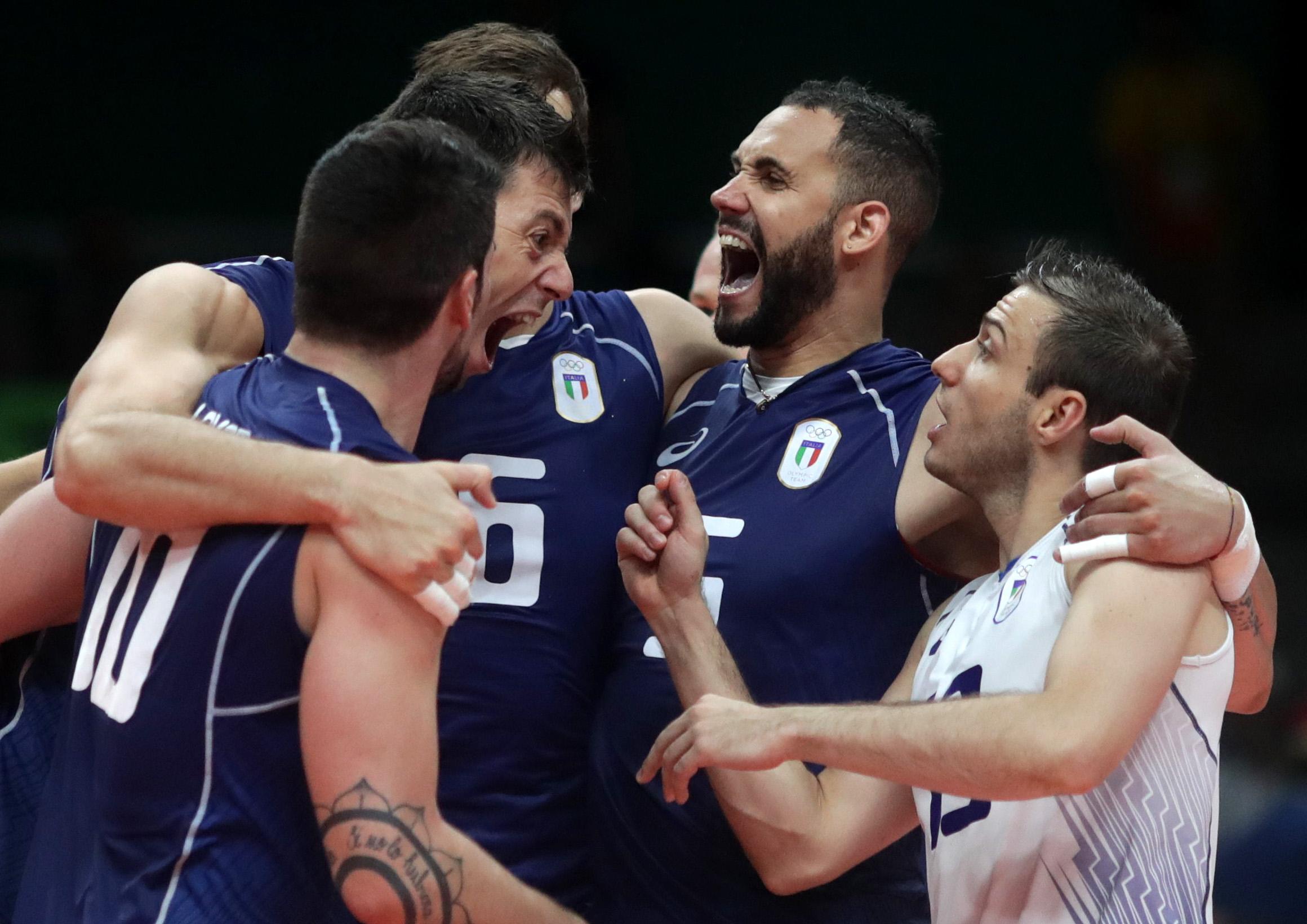 Emoção do início ao fim  Itália bate os EUA 7365915629c40