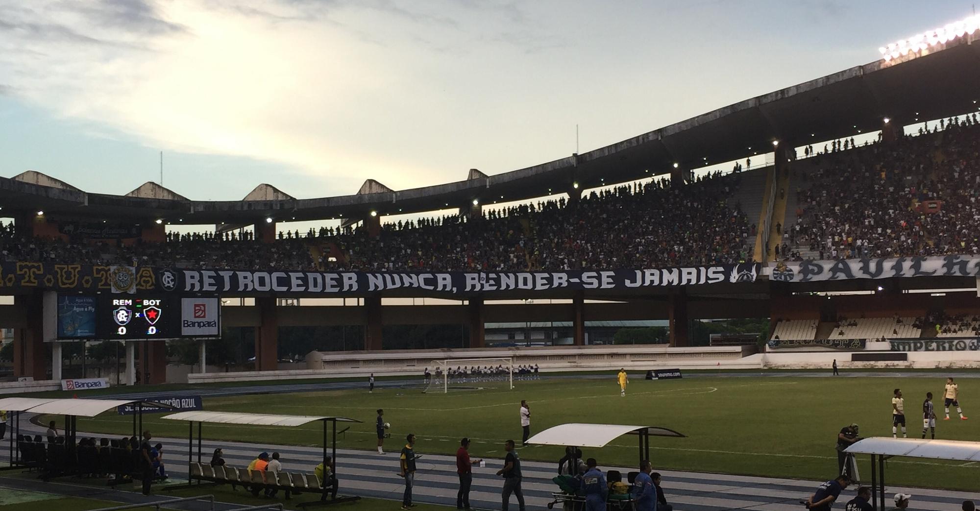 bbf3007665 Torcida do Remo projeta criação de um dos maiores bandeirões do Brasil