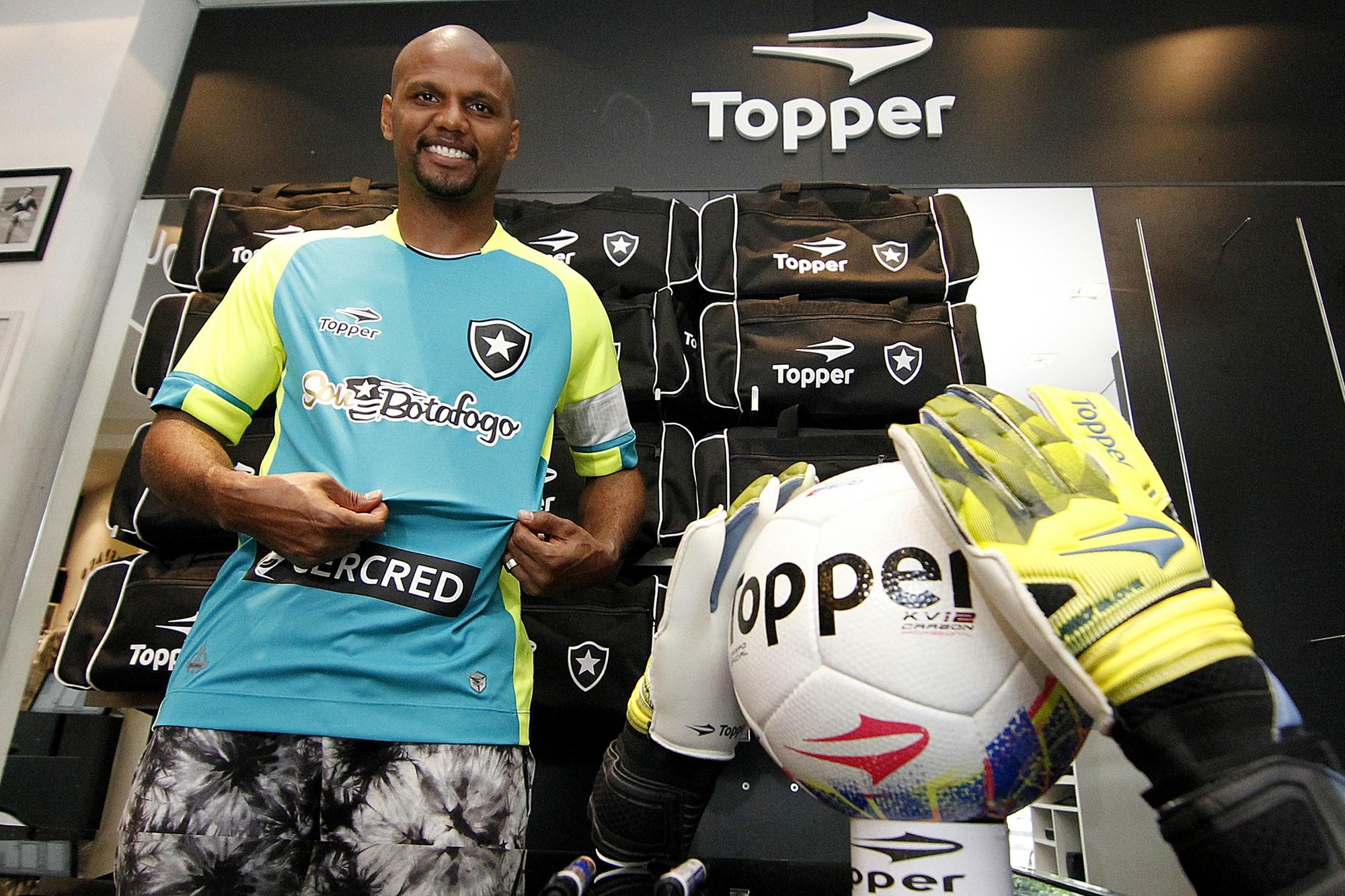 bea2cd0cff Botafogo lança camisa especial para Jefferson