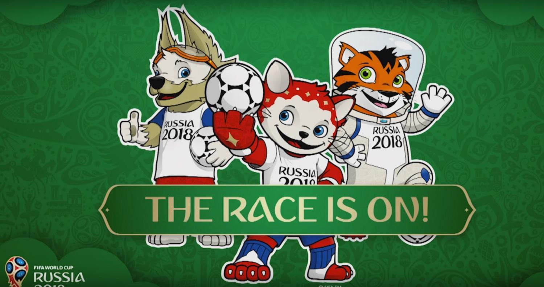 Fifa apresenta os possíveis mascotes para Copa de 2018 dcd24995dc3