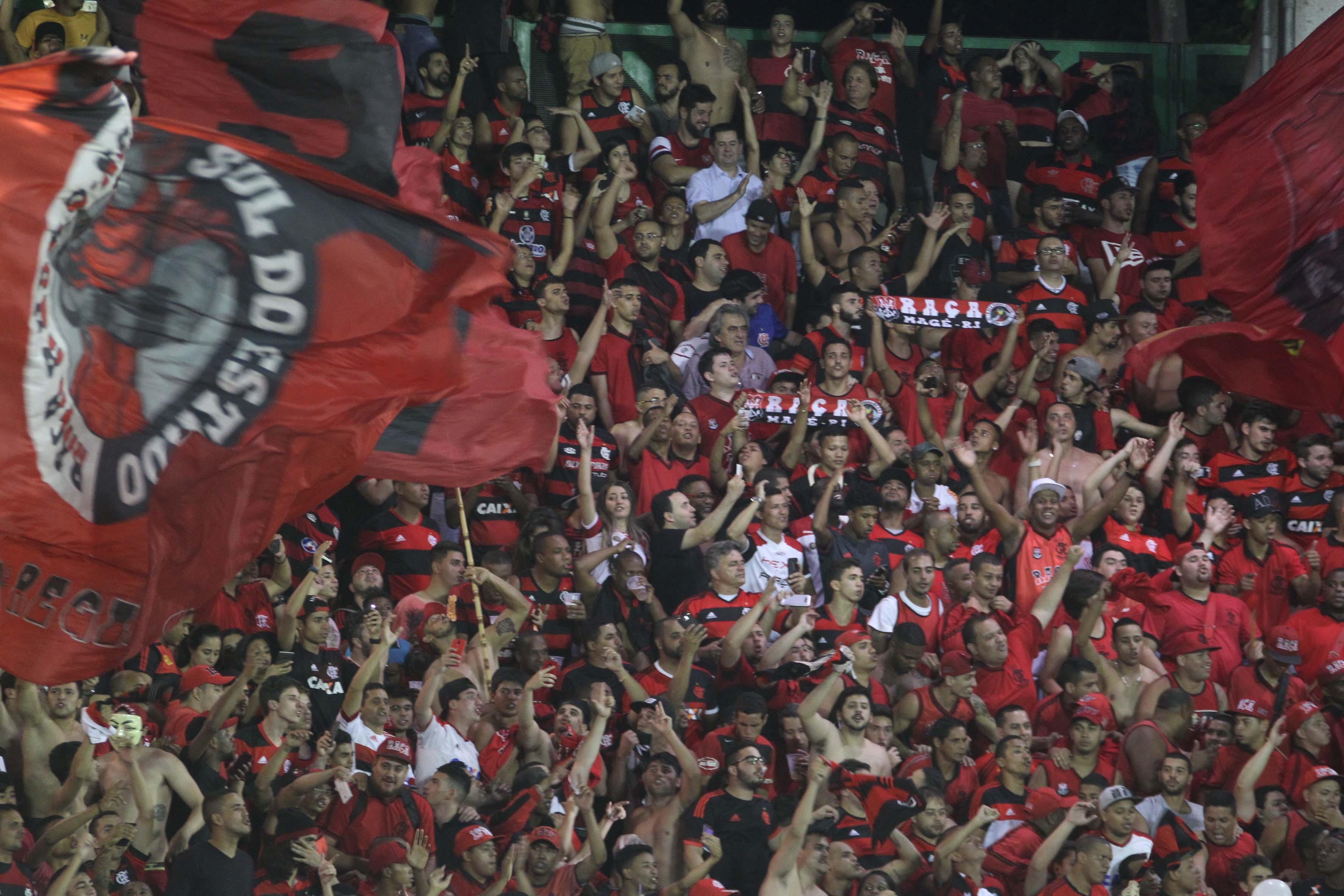 Casa cheia  torcida do Fla esgota ingressos para estreia na Libertadores 140704065b358