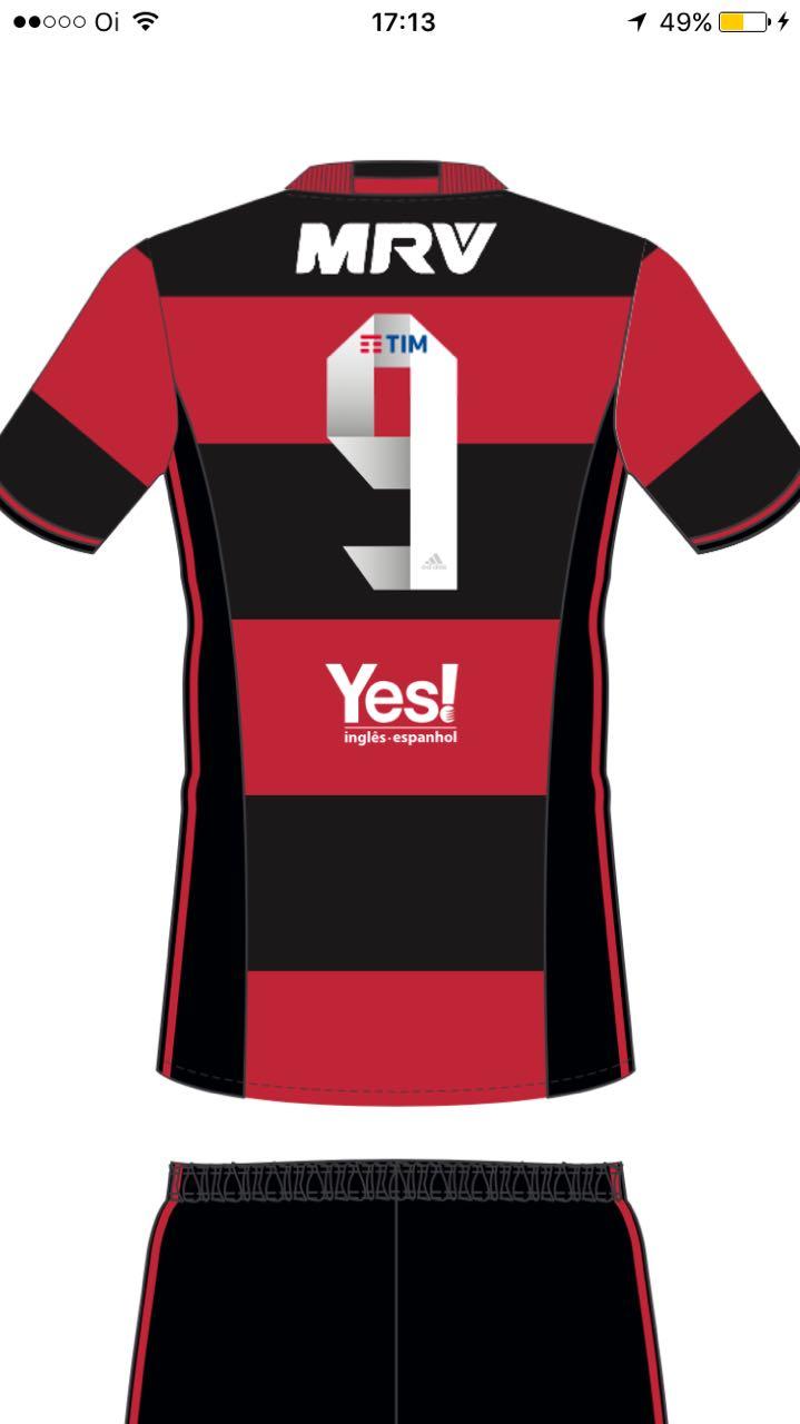 c8c9df421f502 Fla renova patrocinador e vai receber R  6 milhões por espaço na camisa