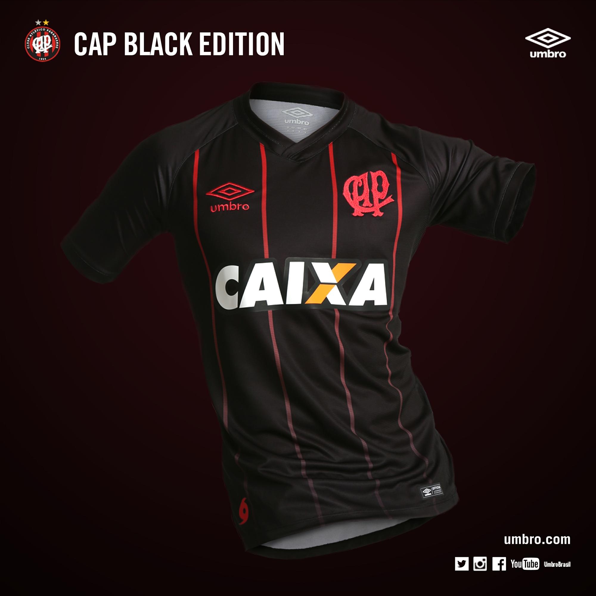 Atlético-PR lança camisa especial à torcida  manto estreia neste domingo 15cae18f4c922