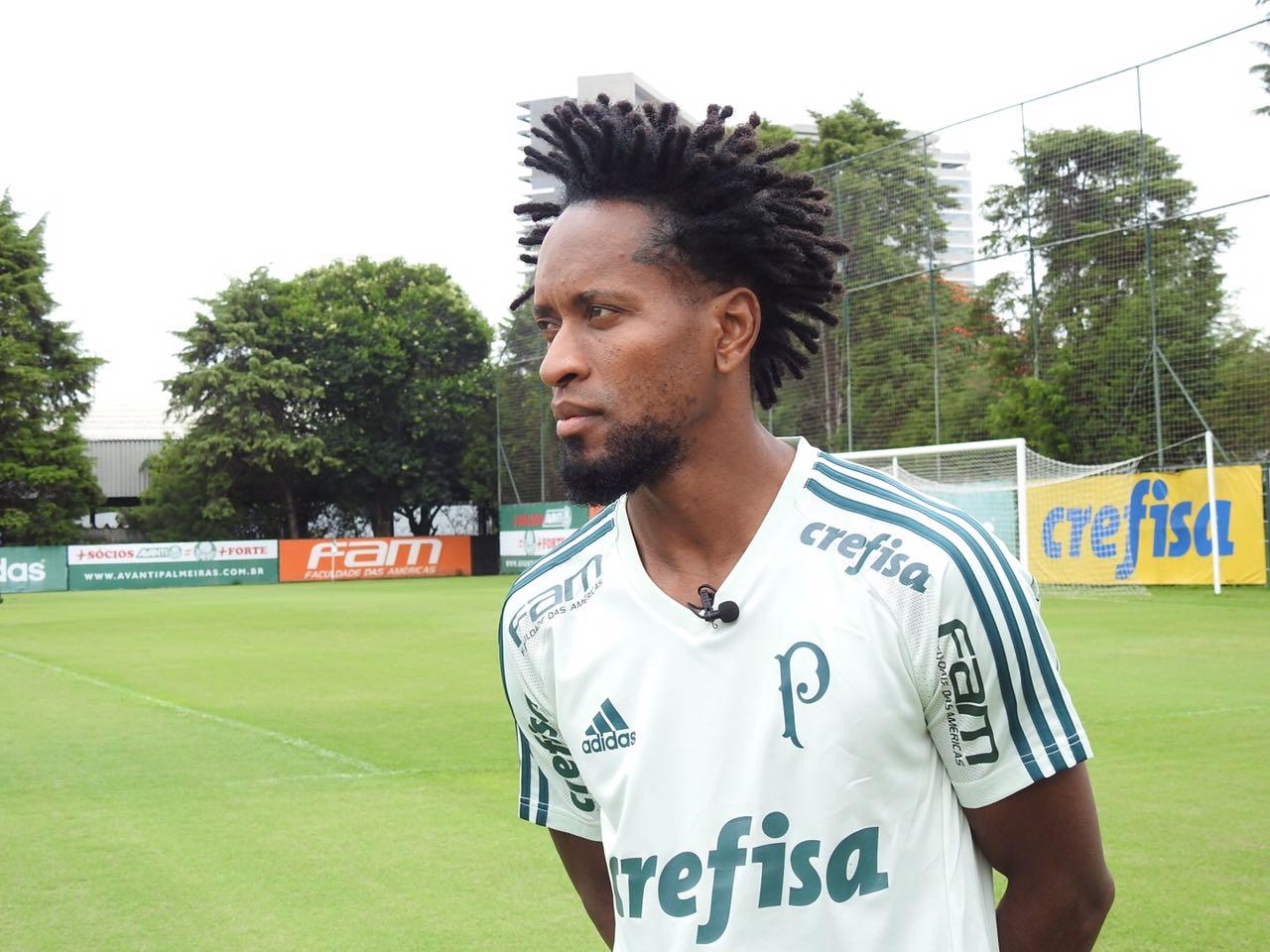 100x Zé Roberto  lateral bate marca e espera Palmeiras ainda mais gigante 3f98071e9c301