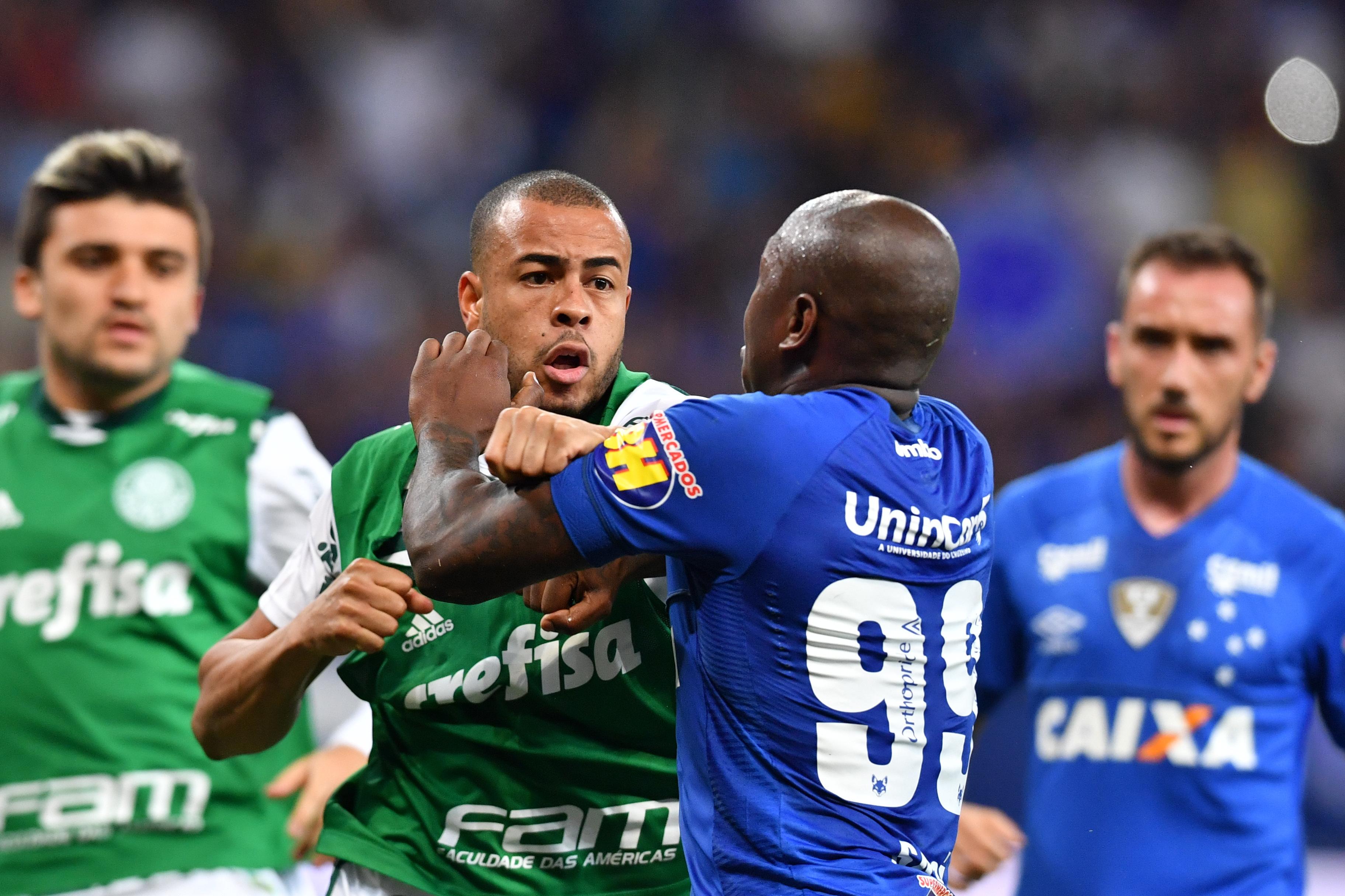 Caso Cruzeiro x Palmeiras  Sassá é suspenso por seis partidas  Mayke e  Diogo Barbosa levam dois jogos  c31f7cfb99730