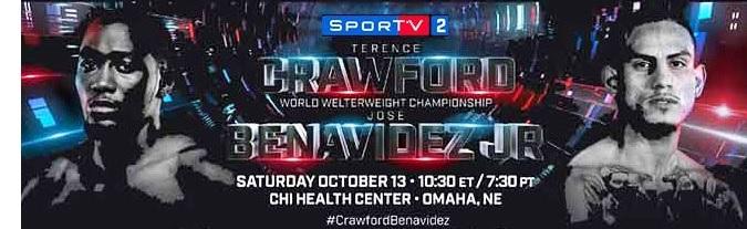 BLOG: Sábado tem Crawford vs Benavidez na TV