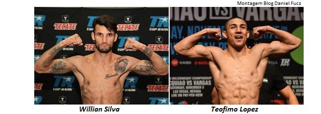 BLOG: Willian Silva deverá enfrentar Teofimo