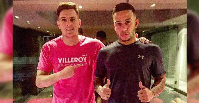 BLOG: Preparador físico brasileiro é personal trainer de Memphis Depay e planeja expandir sua clientela no futebol francês