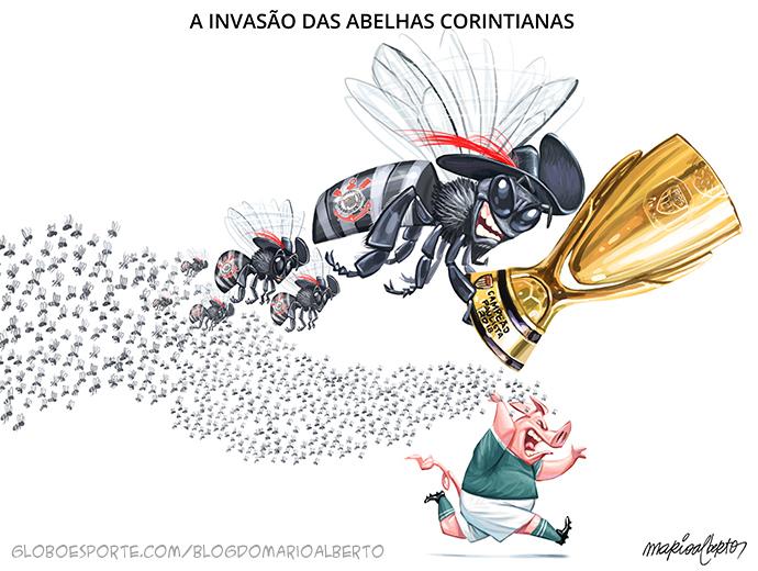 BLOG: Bzzzzzvai, Corinthians!