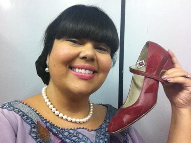 1773a0f97 EGO - Juliana Paes e Fabiana Karla usam sapatos sob medida em ...