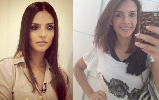 Carol Celico: antes e depois da mudança de estilo (Foto: Reprodução/Instagram)