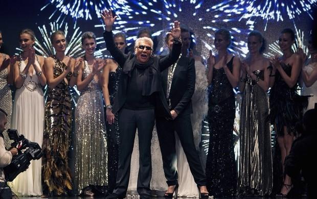 1a745b1c8f5c5 Roberto Cavalli apresenta coleção em semana de moda de Israel (Foto  ...