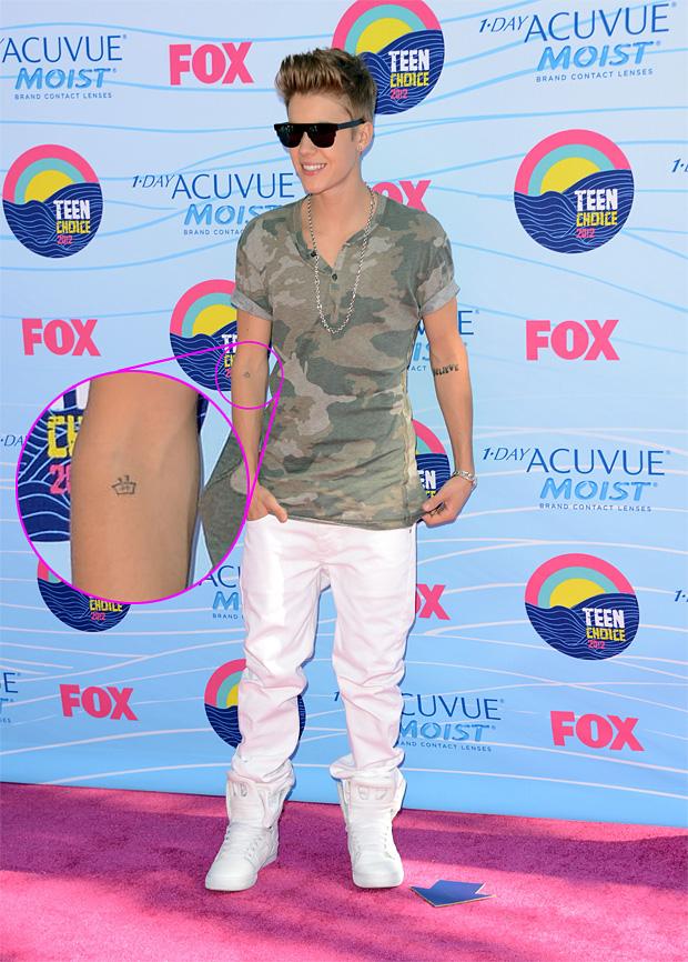 Noticia Dos Famosos Nova Tatuagem De Justin Bieber Significa
