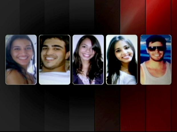 Cinco estudantes desaparecidos são encontrados mortos (Foto: Reprodução Globo News)