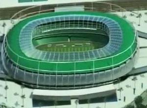 Projeto do estádio de Fortaleza